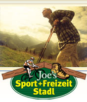 Joe's Sport + Freizeit Stadl in Gerlos